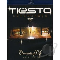 Tiesto - Elements of Life World Tour BRAY Cover Art