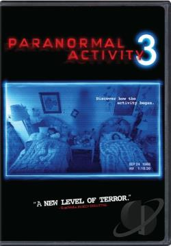 Paranormal Activity 3 DVD Cover Art