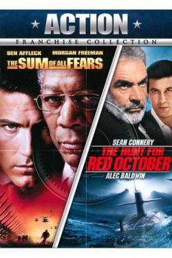 Hunt for Red October/The Sum of All Fears DVD Cover Art