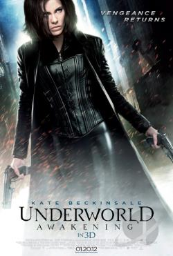Underworld: Awakening DVD Cover Art