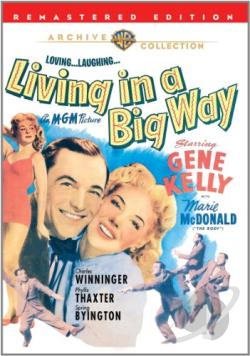 Living in a Big Way DVD Cover Art