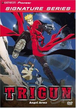 Trigun - Vol. 5: Angel Arms DVD Cover Art