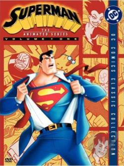 Superman: The Animated Series - Vol. 1 DVD Cover Art