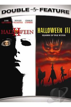 Halloween II/Halloween III: Season of the Witch DVD Cover Art