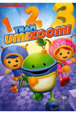 Team Umizoomi: 1 2 3 DVD Cover Art