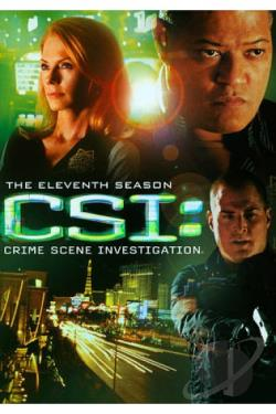 CSI: Crime Scene Investigation - The Complete Eleventh Season DVD Cover Art