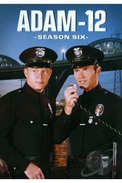 Adam 12 - The Complete Sixth Season DVD Cover Art