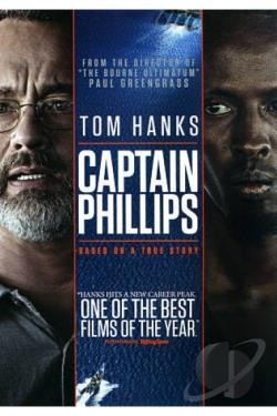 Captain Phillips DVD Cover Art