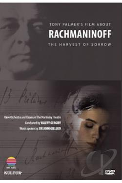 Harvest of Sorrow - Tony Palmer's Film About Sergei Rachmaninoff DVD Cover Art