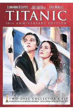Titanic DVD Cover Art