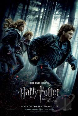 Harry Potter and the Deathly Hallows: Part I DVD Cover Art