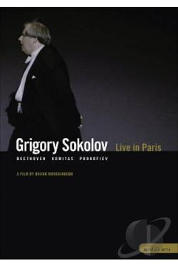 Grigory Sokolov - Live in Paris DVD Cover Art