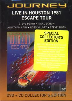 Journey - Live in Houston 1981: Escape Tour DVD Cover Art
