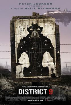 District 9 DVD Cover Art