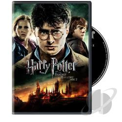 Harry Potter and the Deathly Hallows: Part II DVD Cover Art