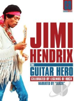 Jimi Hendrix: The Guitar Hero DVD Cover Art
