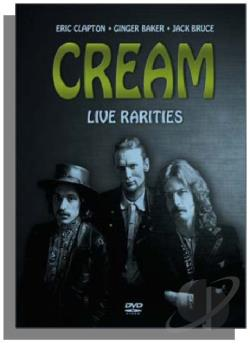 Live Rarities DVD Cover Art