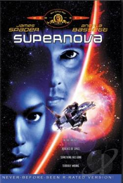 Supernova DVD Cover Art