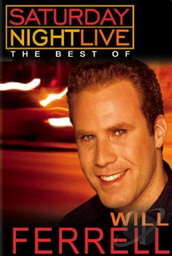Saturday Night Live - The Best of Will Ferrell DVD Cover Art