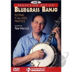 Branching Out on Bluegrass Banjo 2 - Putting It All Into Practice DVD Cover Art