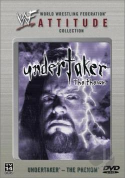WWF - Undertaker: The Phenom DVD Cover Art