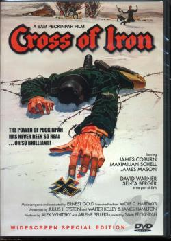 Cross of Iron DVD Cover Art