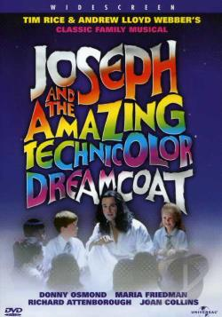 Joseph and the Amazing Technicolor Dreamcoat DVD Cover Art