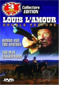 Louis L'Amour Double Feature DVD Cover Art