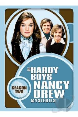 Hardy Boys Nancy Drew Mysteries: Season Two DVD Cover Art