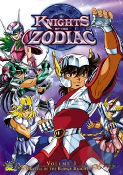 Knights of the Zodiac - Vol. 1: The Power of Pegasus DVD Cover Art