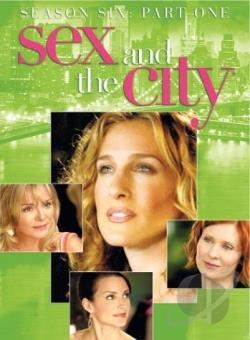 Sex and the City: The Sixth Season - Part 1 DVD Cover Art