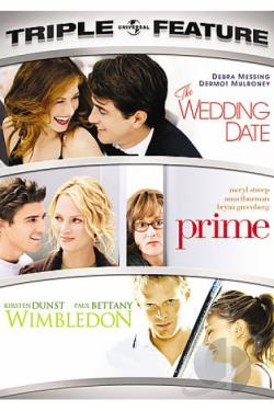Wedding Date/Prime/Wimbledon DVD Cover Art
