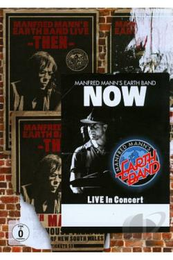 Manfred Mann's Earth Band: Then and Now DVD Cover Art