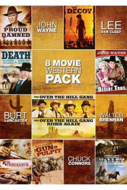8 Movie Western Pack, Vol. 1 DVD Cover Art