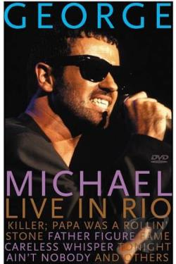 George Michael: Live - Rock in Rio DVD Cover Art