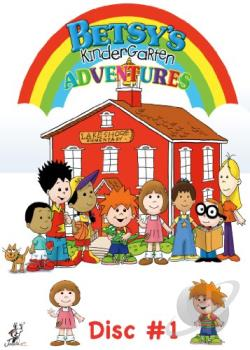 Betsy's Kindergarten Adventures, Vol. 1 DVD Cover Art