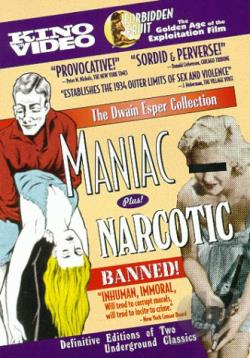 Maniac/Narcotic DVD Cover Art