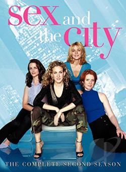 Sex and the City - The Complete Second Season DVD Cover Art