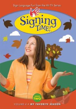 Signing Time! Series Two Vol. 4 - My Favorite Season DVD Cover Art