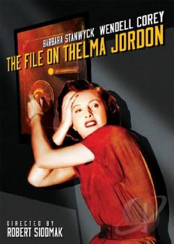 File on Thelma Jordon DVD Cover Art