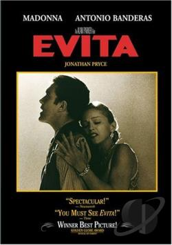 Evita DVD Cover Art