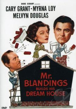 Mister Blandings Builds His Dream House DVD Cover Art