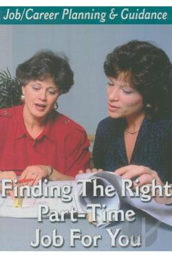 Job/Career Planning & Guidance - Finding the Right Part-Time Job for You DVD Cover Art