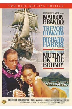 Mutiny on the Bounty DVD Cover Art