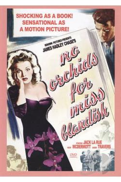 No Orchids for Miss Blandish DVD Cover Art