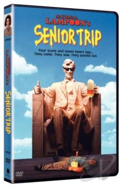 National Lampoon's Senior Trip DVD Cover Art