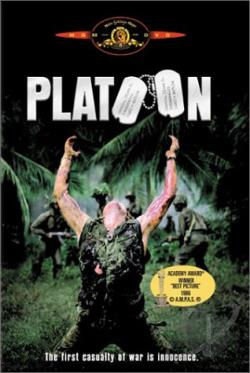 Platoon DVD Cover Art
