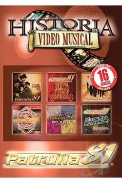 Patrulla 81- Historia Video Musical DVD Cover Art