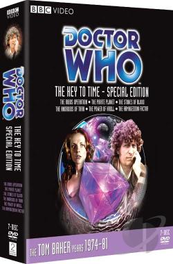 Doctor Who - The Key to Time - The Complete Adventure DVD Cover Art