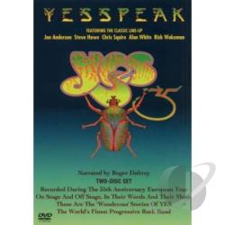 Yesspeak DVD Cover Art